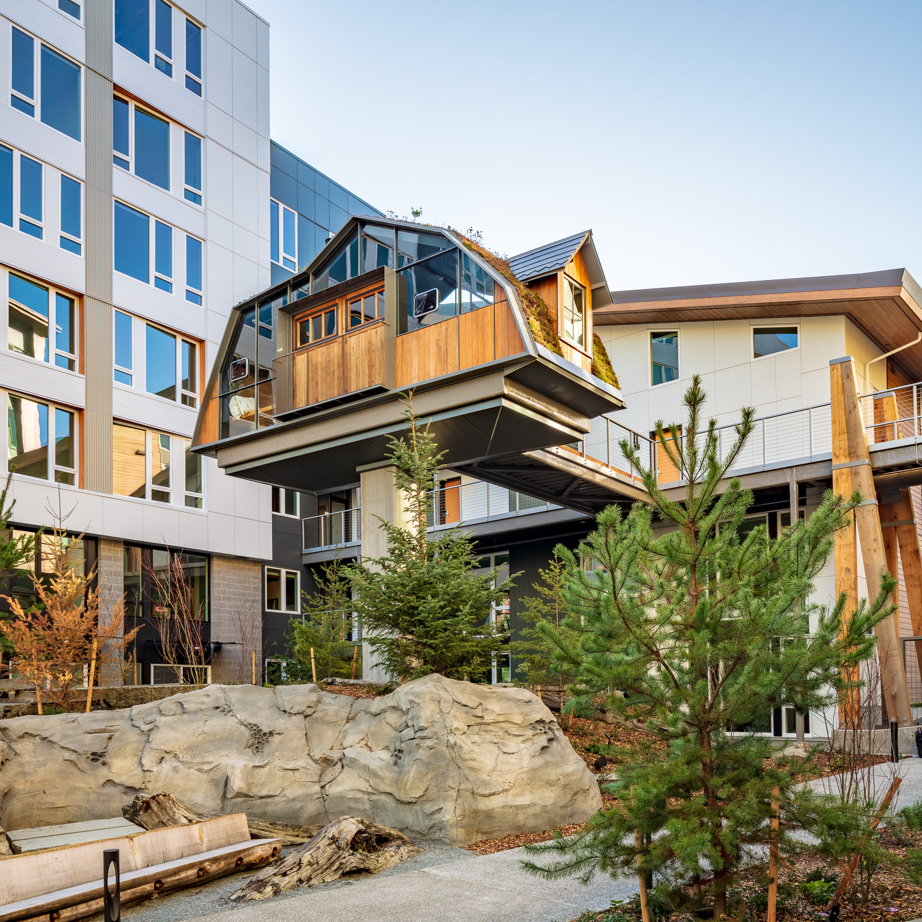 A Beautifully Designed South Lake Union Apartment Community Inspired By The San Juan Islands Calming Mindful Effortless